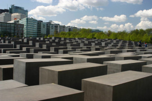 The Berlin Holocaust Memorial. (Photo: Nadine Lind)