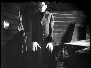 "Count Orlok in ""Nosferatu."""
