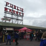 Pike Place Market in Seattle.